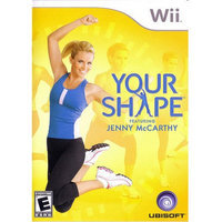 Ubisoft 696055218158 Your Shape with Jenny McCarthy for Wii