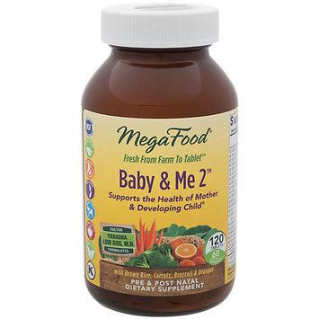 Baby & Me 2 MegaFood 120 Tabs