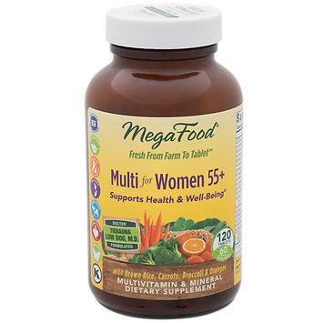 Multi for Women 55+ MegaFood 120 Tabs