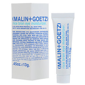 MALIN+GOETZ Rice Bran Eye Moisturizer, .45 oz