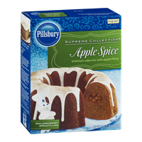 Pillsbury Supreme Collection Premium Cake Mix Apple Spice