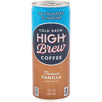 High Brew Coffee Mexican Vanilla 8 fl oz