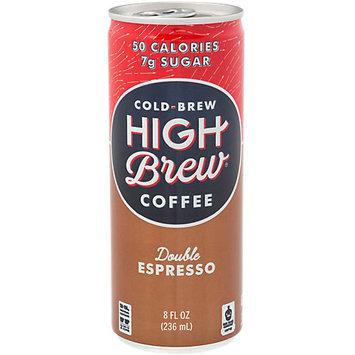 High Brew Coffee Double Espresso 8 fl oz