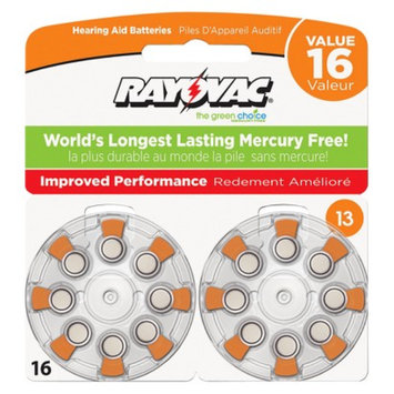 Spectrum Rayovac Size 13 6-pk. Hearing Aid Batteries