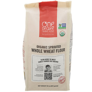 One Degree Organic Foods Veganic Sprouted Whole Wheat Flour 32 oz