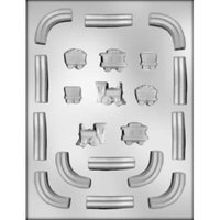 CK Products Train and Track Chocolate Mold
