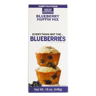 Cherryvale Farms Everything But The Blueberries Blueberry Muffin Mix 16 oz