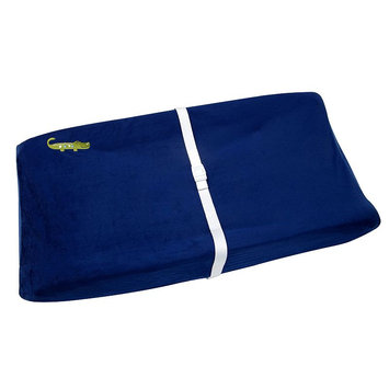 NoJo Alligator Blues Changing Pad Cover
