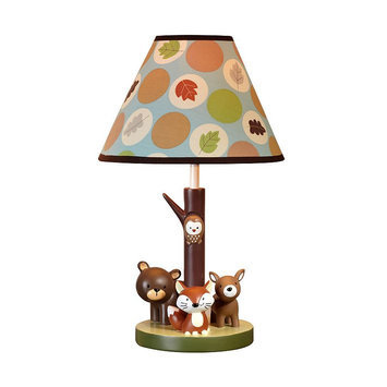 Crown Craft Carter's Friends Collection Table Lamp (Brown)