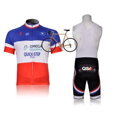 2012 Style quick step cycling jersey Set short-sleeved jersey /Perspiration breathable