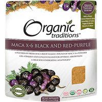 Organic Traditions Maca X6 Black and RedPurple blend