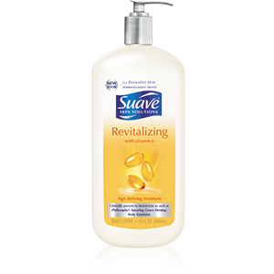 Suave® Revitalizing with Vitamin E Body Lotion