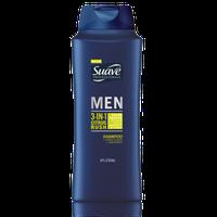 Suave® Men 3-In-1 Citrus Rush Shampoo, Conditioner & Body Wash