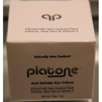 Platone Anti-Wrinkle Eye Creme, 1 Oz.