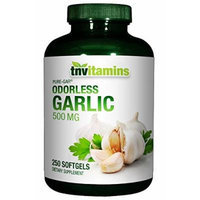Garlic Capsules 500 Mg Odorless - 250 Capsules