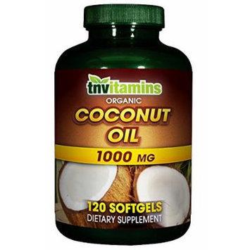 Organic Coconut Oil - 120 Softgels