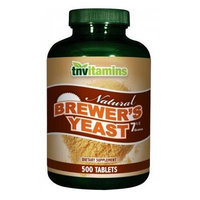 TNVitamins Brewer's Yeast Tablets - 500 Tablets