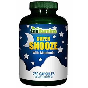 Super Snooze - Sleep Support Formula with Melatonin* - 250 Capsules