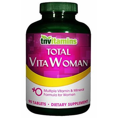 Total VitaWoman - Multivitamin Complex For Women - 90 Tablets