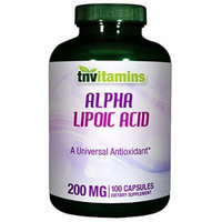 Alpha Lipoic Acid 200 Mg With Biotin - 100 Capsules