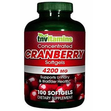 TNVitamins Cranberry Softgels - 100 Softgels