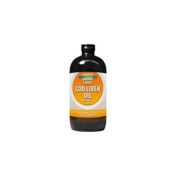 Norwegian Cod Liver Oil Liquid - 16 oz.