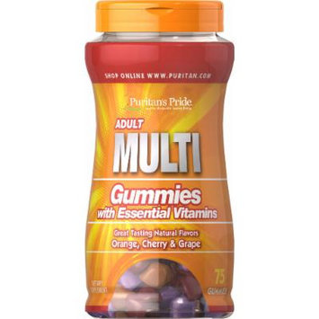 Puritan's Pride Adult Multivitamin Gummy-75 Gummies