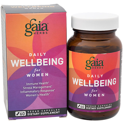 Daily Wellbeing for Women Gaia Herbs 60 VCaps