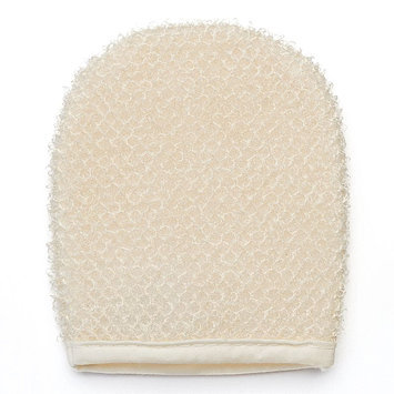 Earth Therapeutics Super Loofah Exfoliating Facial Mitt (Beige/Khaki)
