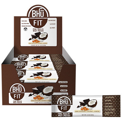 Bhu Fit Primal Dark Chocolate Almond Coconut Protein Bar