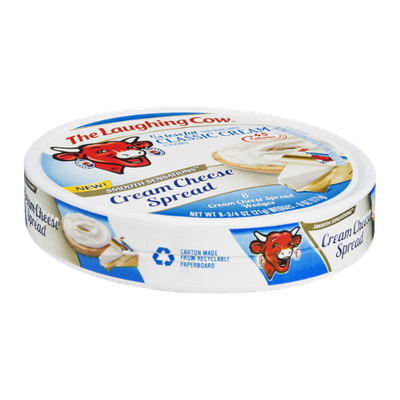 The Laughing Cow Smooth Sensations Cream Cheese Spread Classic Cream - 8 CT