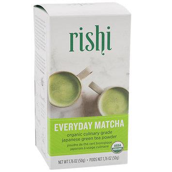 Rishi Tea Everyday Matcha Organic Culinary Grade Greed Tea