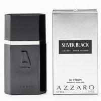 Fragrance Azzaro Silver Black Eau de Toilette - Men's (Green/Black/Silver)