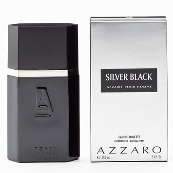 Fragrance Azzaro Silver Black Eau de Toilette - Men's (Green/Black/Silver)