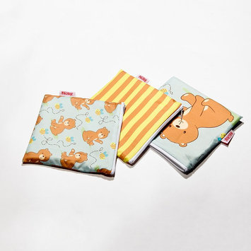 Nuby 3-pk. Reusable Snack Bags (Bear)
