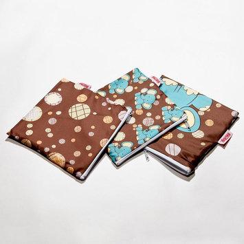 Nuby 3-pk. Reusable Snack Bags (Elephant)