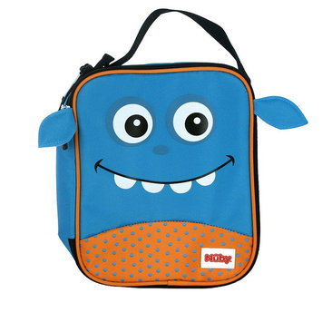 Nuby Monster Insulated Lunch Box (Blue)