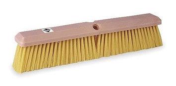 TOUGH GUY 1A841 Push Broom, Ylw Synthetic, GnrlPurpose