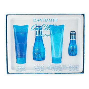 Davidoff Cool Water 4-pc. Fragrance Gift Set - Women's (Honeydew/Black/Peach)