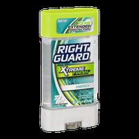 Right Guard Xtreme Fresh Invisible Gel Antiperspirant & Deodorant Energy