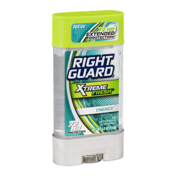Right Guard Xtreme Fresh Invisible Gel Antiperspirant & Deodorant Energy