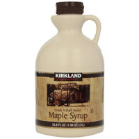 Signature 100% Maple Syrup Dark Amber, 33. 8 Fl OZ