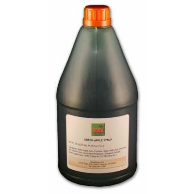 Bubble Boba Tea Green Apple Syrup_Juice 5.5 lbs (2.5kg)