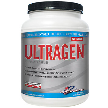 First Endurance Ultragen Recovery Drink Vanilla, One Size - Men's