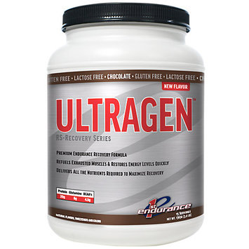 First Endurance Ultragen Recovery Drink Chocolate, One Size - Men's