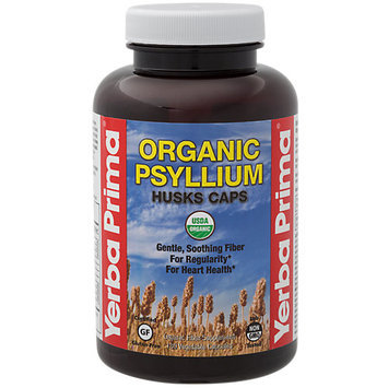 Yerba Prima Organic Psyllium Husks Caps
