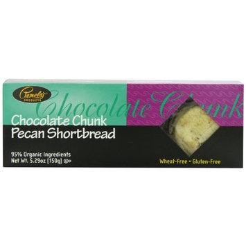 Pamela's Products Chocolate Chunk Pecan Shortbread, 5.29-Ounce Boxes (Pack of 6)