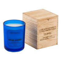 Home & Style Scents Vintage Gardenia 16 oz. Candle (Blue)