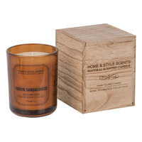 Home & Style Scents Indian Sandalwood 16 oz. Candle (Brown)