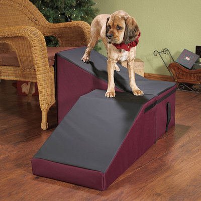 Doctors Foster & Smith Dura Ruff Indoor Pet Ramp (Red)